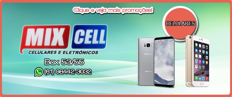 Feira-dos-Importados-de-Taguatinga-Banner-de-Promoção-Mix-Cell-2-Celulares